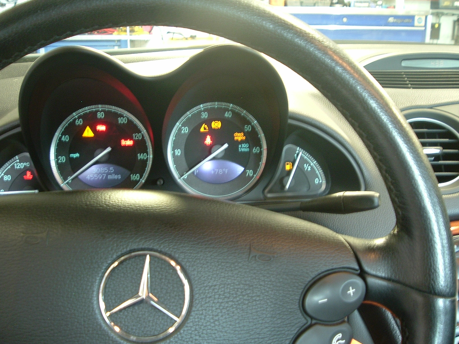 My Check Engine Light Is On Daves Import Service Auto Repair Mercedes Benz 003